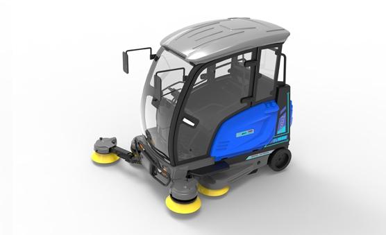三轮驾驶室扫地车