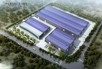 紧锣密鼓,潍坊中远重科二厂区厂房钢结构基本完工